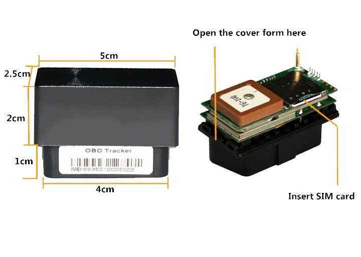 mini-OBD-GPS-Tracker